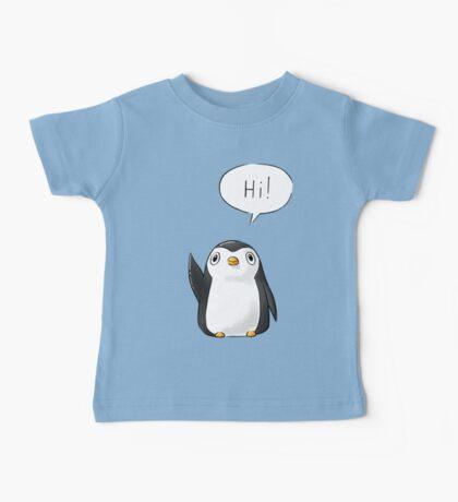 Hi Penguin Baby Tee