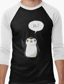 Hi Penguin Men's Baseball ¾ T-Shirt
