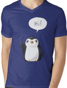 Hi Penguin Mens V-Neck T-Shirt