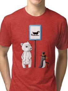 School Stop Tri-blend T-Shirt