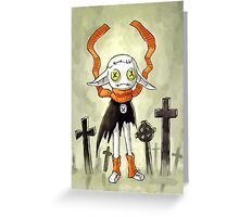 Rag Doll 2 Greeting Card