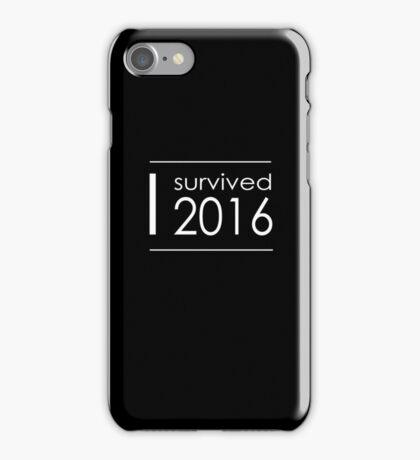 I survived 2016 iPhone Case/Skin