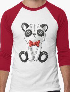 Panda Doll Men's Baseball ¾ T-Shirt