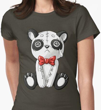 Panda Doll Womens Fitted T-Shirt