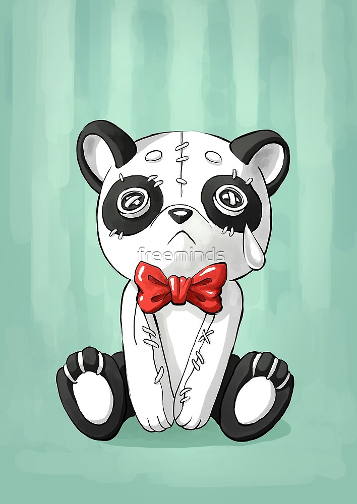 Panda Doll by freeminds
