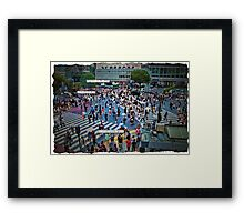 Love Bombs Framed Print