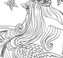 Rusalka - Bulgarian #Mermaid Sticker