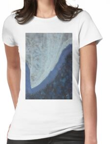 High Rockies original painting Womens Fitted T-Shirt