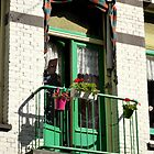 Green Balcony by UrsulaRodgers