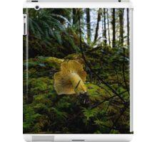 Yellow Chanterelle Mushroom iPad Case/Skin