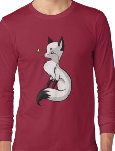 Fox and a Butterfly Long Sleeve T-Shirt