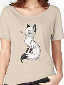 Fox and a Butterfly Women's Relaxed Fit T-Shirt