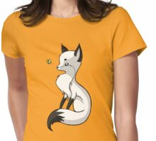 Fox and a Butterfly Womens Fitted T-Shirt