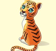 Tiger Cub by freeminds