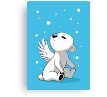 Polar Cub 2 Canvas Print