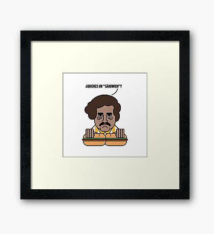 Narcos - How I met your mother Framed Print