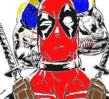 Best Buds: Deadpool vs Wolverine by Bigmuskills1