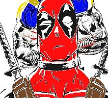 Best Buds: Deadpool vs Wolverine by Bigmuskills1