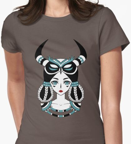 Owl Tribe Womens Fitted T-Shirt
