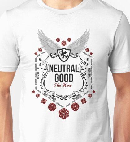 Neutral Good - Black: Alignment Series Unisex T-Shirt