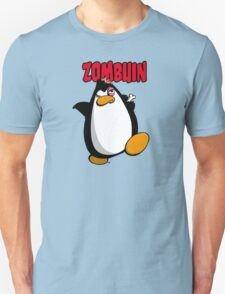 Zombuin - The Zombie Penguin Unisex T-Shirt