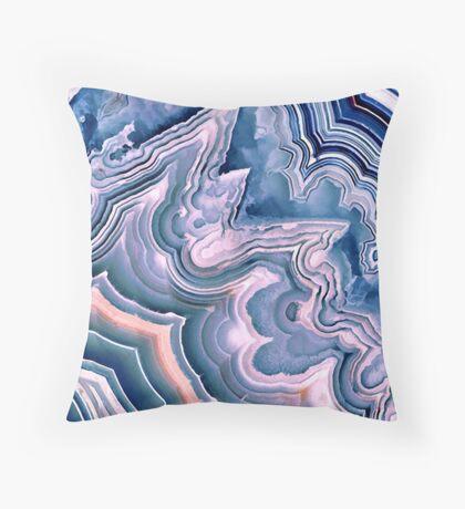 Agate ornament Throw Pillow
