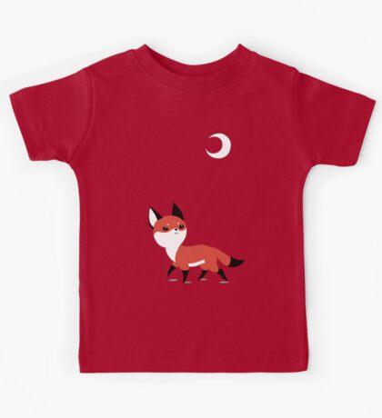 Moon Fox Kids Tee