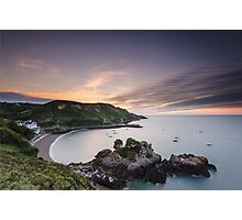 High on the Cliffs Photographic Print
