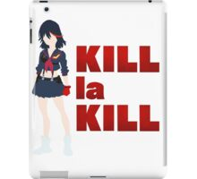 Kill la Kill Silhouette  iPad Case/Skin