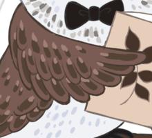 Professor Owl Sticker