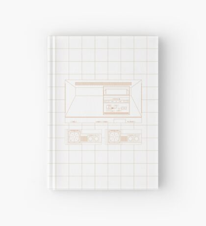 Master System outlines single (white) Hardcover Journal