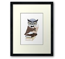 Professor Owl Framed Print