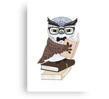 Professor Owl Canvas Print