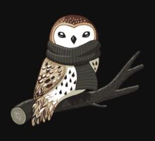 Winter Owl One Piece - Long Sleeve