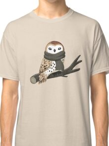 Winter Owl Classic T-Shirt