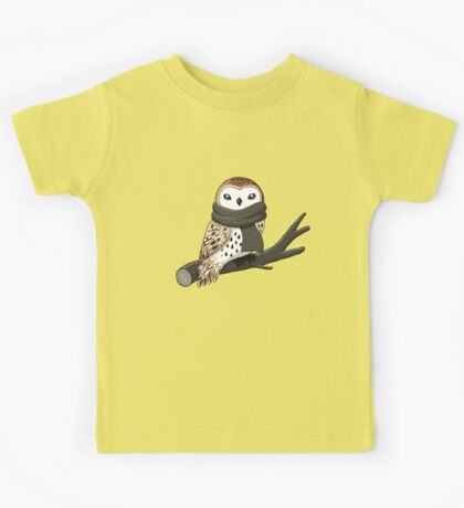 Winter Owl Kids Tee