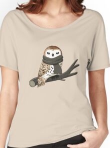 Winter Owl Women's Relaxed Fit T-Shirt