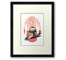 Winter Owl Framed Print