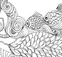 Merrow - Irish #Mermaid Sticker