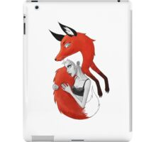 Girl and a Fox iPad Case/Skin