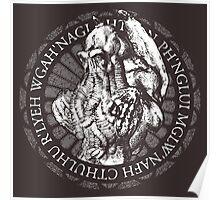 Cthulhu Emblem  Poster