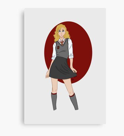 Gryffindor Girl Canvas Print