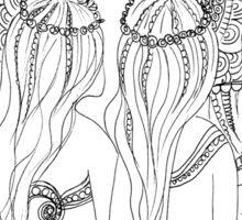 Ne Hwas – Native American (Passamaquoddy) #Mermaids Sticker