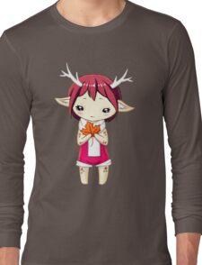 Deer Girl Long Sleeve T-Shirt