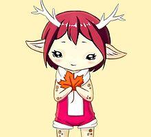 Deer Girl by freeminds