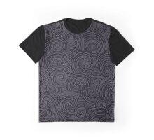 curly zen doodle Graphic T-Shirt