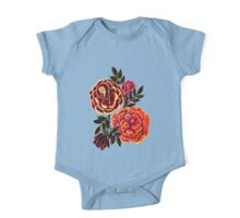 Colorful Roses One Piece - Short Sleeve