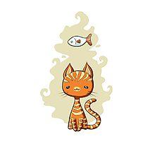Ginger Cat Photographic Print