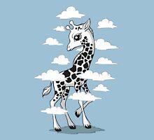 Wandering Giraffe Womens Fitted T-Shirt