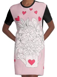 bouquet with love Robe t-shirt